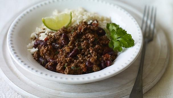 Spectator Meal ONLY - Chilli + Rice (Adults)